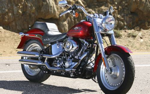 Harley-Davidson Fat Boy - Мотоциклы