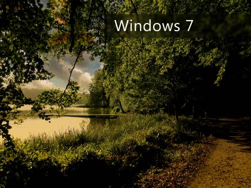 Природа Windows 7 - Windows