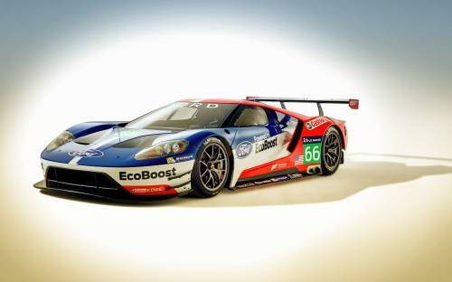 2016 Ford Gt Race - Автомобили