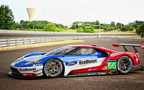 2016 Ford GT Race Car - Автомобили